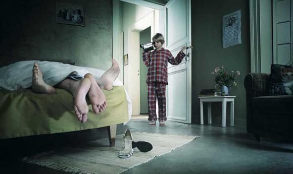 Психический травматизм сексуальных актов, как следствие Эдипового комплекса.